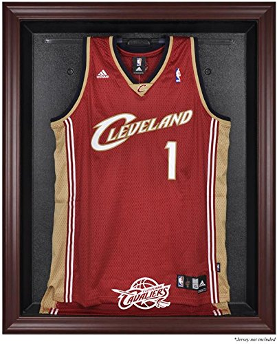 Cleveland Cavaliers Mahogany Finished Logo Jersey Display Case by Sports Memorabilia