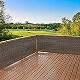 Privacy Screen Fence Mesh Windscreen for Backyard Deck Patio Balcony Pool Porch Railing