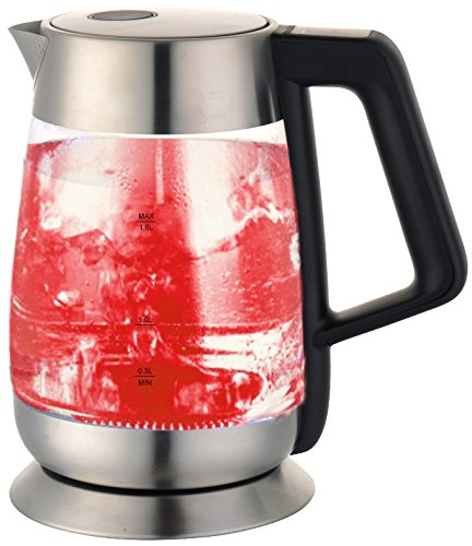 Ovente Glass Kettle Temp Control (Large Image)