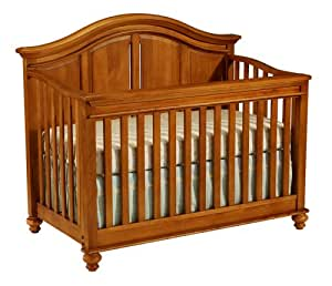 Westwood Design Cypress Point Convertible Crib with Guard Rail, Honey Pine (Discontinued by Manufacturer)