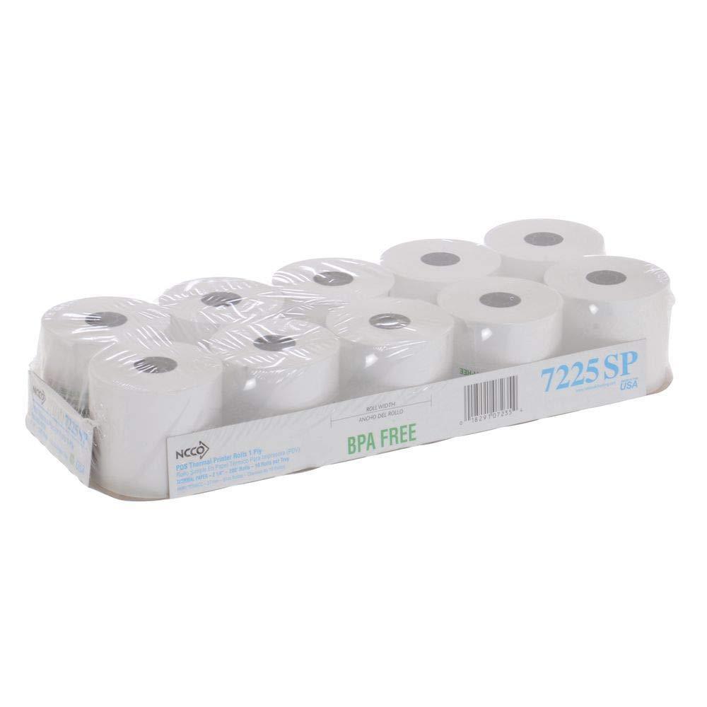 200 x 2.25 Thermal Cash Register Tape
