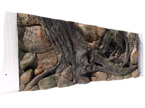 Aquarium Rückwand 3D Amazonas 150x60 bei Robizoo