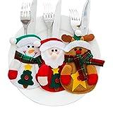 3 Sets Christmas Cutlery Bag,