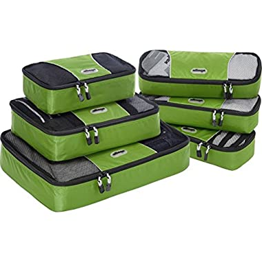 eBags Packing Cubes - 6pc Value Set (Grasshopper)