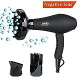 Jinri Salon Grade Professional Hair Dryer 1875W AC Motor Negative...