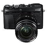 "Fujifilm Mirrorless Digital Camera Bundle with 3.0"" LCD, Black (X-E3 Body w/XF18-55mm Lens Kit - Black)"