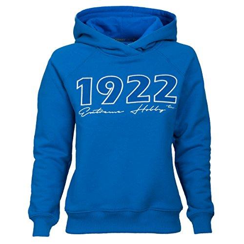 Extreme Hobby Damen Hooded Sweatshirt. Imperium Poznanskie.KKS Lech Poznan 1922. Kolejorz. Polish Football Fanatics Hoodie