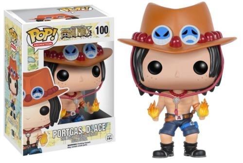 Funko POP! Anime One Piece Portgas D. Ace Vinyl Action Figure 100