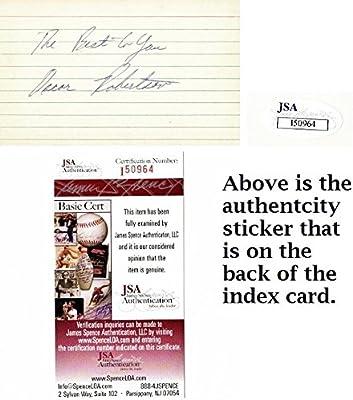 39c03d007 Oscar Robertson Signed - Autographed Cincinnati Royals - Milwaukee Bucks  Vintage 3x5 inch Index Card - The Big O - JSA Certificate of Authenticity