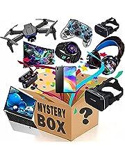 Mystery Box Electronic Lucky Boxes, Mysterieuze Willekeurige Producten, Er Is Een Kans Om Te Openen: Zoals Drones, Slimme Horloges, Gamepads, Digitale Camera's En Meer, Alles Wat Mogelijk
