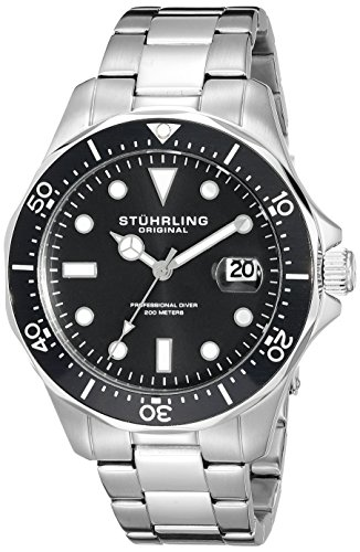 stuhrling original men s 824 01 regatta analog ese quartz stuhrling original men s 824 01 regatta analog ese quartz stainless steel watch amazon co uk watches