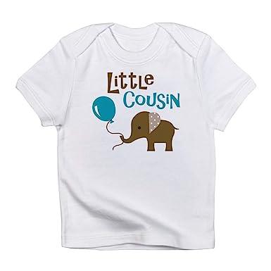 70ad95192935 CafePress Little Cousin Mod Elephant Infant T Shirt Cute Infant T-Shirt
