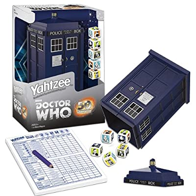 Yahtzee: Doctor Who Collector's Edition: Game: Toys & Games