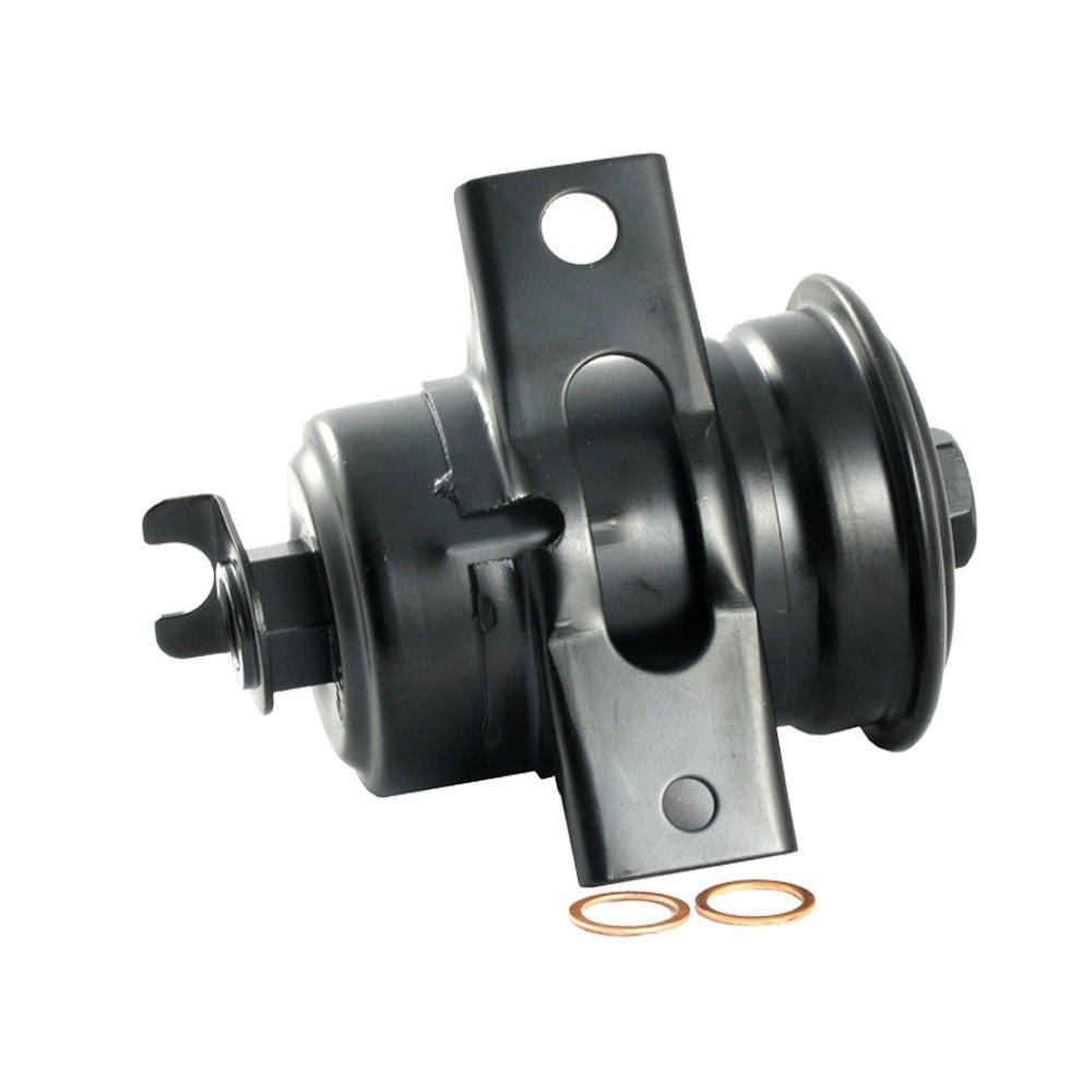 amazon com: ecogard xf53168 engine fuel filter - premium replacement fits  toyota corolla, celica/chevrolet nova: automotive