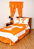 College Covers Tennessee Volunteers Bed in a Bag Full - With White Team Sheets