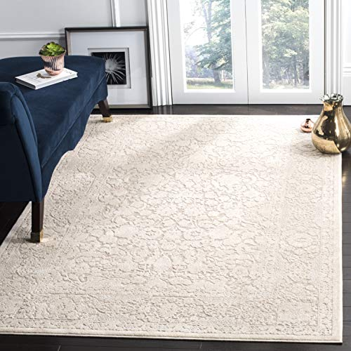 Safavieh Reflection Collection RFT667A Beige and Cream Area Rug (6' x 9') (Polyester Rug)