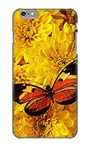 Design High Impact Dirt/shock Proof Case Cover For Iphone 6 Plus (butterfly Abstract)