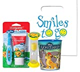 Best Colgate Toothbrush Holders - Jungle Safari Inspired 4pc Bright Smile Toddler Toothbrush Review