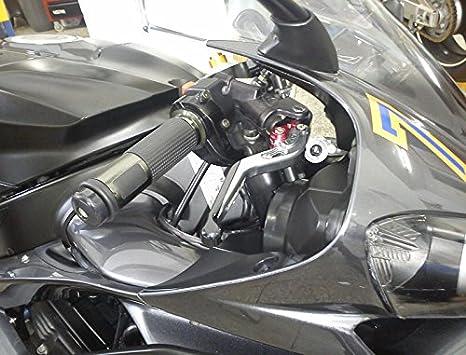 USEX-254 Adjustable CNC Extendable Motorcycle Brake and Clutch Levers for KTM 690SMC 690SMC-R 690DUKE 690DUKE-R 2012-Orange