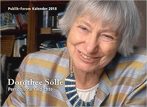 Dorothee Sölle Persönliche Gedichte Publik Forum Kalender