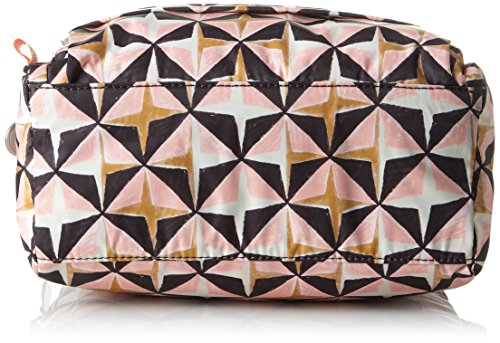 Oilily Ruffles Geometrical Shoulderbag Shz 1 - Borse a spalla Donna, Rosa (Rose), 12x18x24 cm (B x H T)