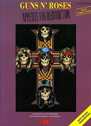 Appetite for Destruction: (Guitar TAB) - Guns N Roses Tab Book
