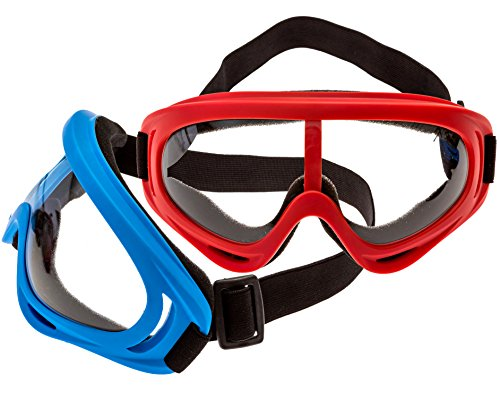 2-Pack Foam Gun and Blaster Goggles