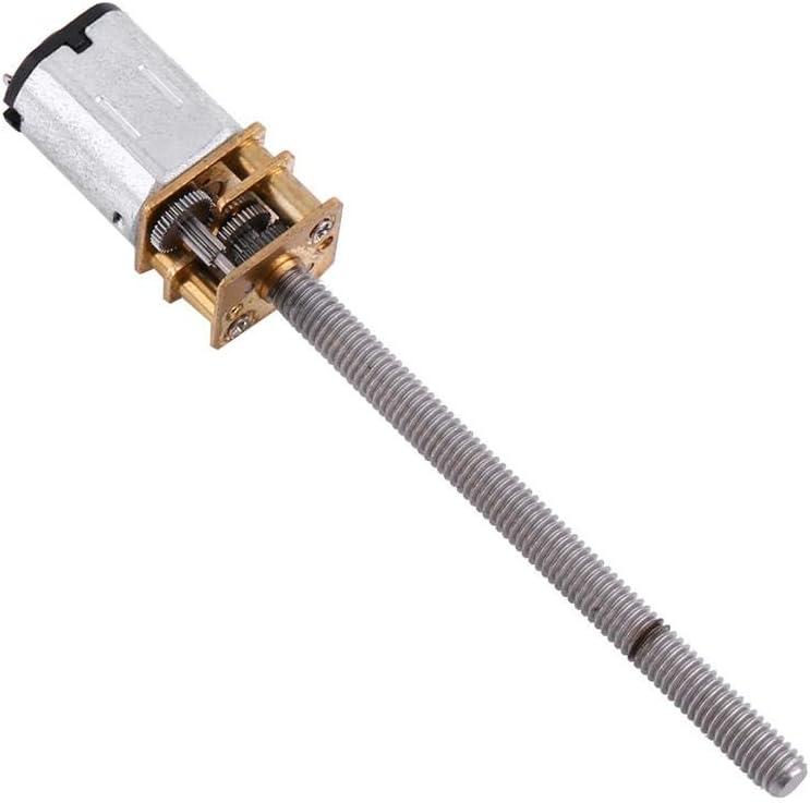DC Getriebemotor N20 DC 6V B/ürste 100 RPM Electric Micro Hohes Drehmoment Getriebemotor f/ür Geschwindigkeitsreduzierung mit Metallgetriebe Abtriebswelle MEHRWEG VERPACKUNG
