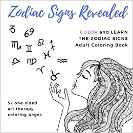 Amazon com: Zodiac Signs Revealed Adult Coloring Book: Aries Taurus