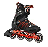 K2 Skate Men's F.I.T Boa Inline Skates, Black/Orange, 12