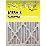 16x25x1 EZ-Pleat MERV 8 Air Filters (6-Pack)