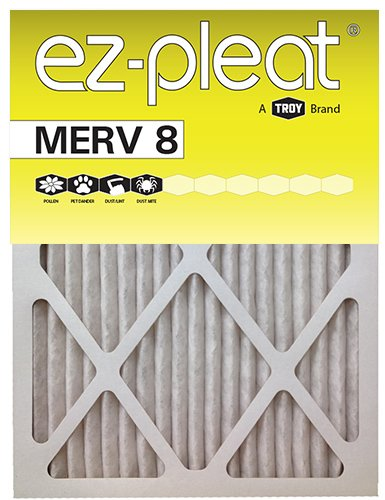 Troy 10x10x1 EZ-Pleat MERV 8 Air Filters (6-Pack)