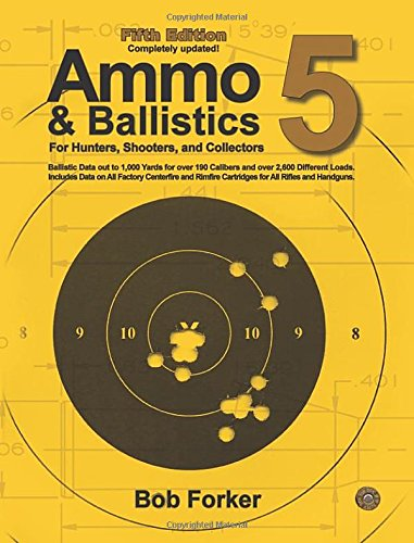 - Ammo & Ballistics 5: Ballistic Data out to 1,000 Yards for over 190 Calibers and over 2,600 Different Loads, Includes Data on All Factory Centerfire and Rimfire Cartridges for All Rifles and Handguns