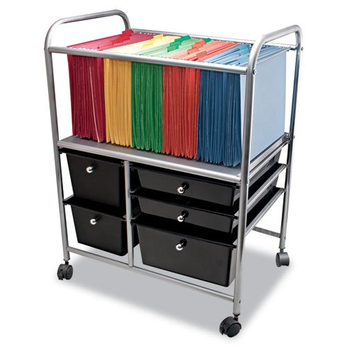 Advantus Letter/Legal 5-Drawer Storage File Cart - AVT34100 21.65x15.25x28.35 in by Advantus (Image #1)