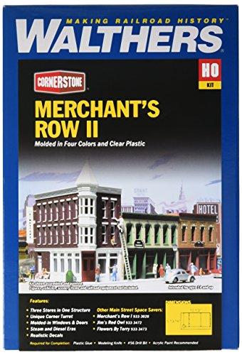 (Walthers Cornerstone Series Kit HO Scale Merchant's Row II)