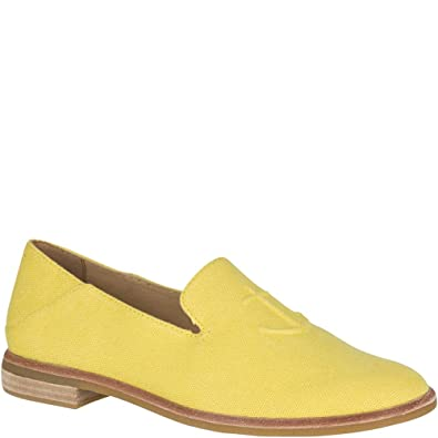 daec95845b Sperry Top-Sider Seaport Levy Canvas Loafer Women 5 Yellow
