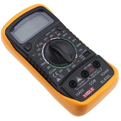 Topone LCD Digital Ohm VOLT Meter AC DC Voltmeter Multimeter