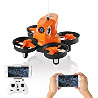 Furibee Mini Drone with Camera Live Video, H801 WIFI FPV Drone RC Quaccopter Drone RTF for Beginners, Kids, One Key Return, Easy To Fly
