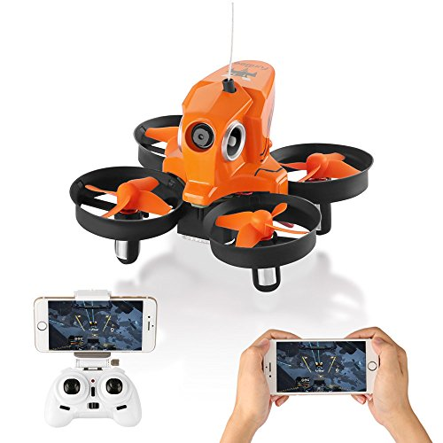 Furibee Mini Drone with Camera Live Video, H801 720P WIFI FPV Drone RC Quaccopter Drone RTF for Beginners, Kids, Altitude Hold, One Key Return, Headless Mode, Easy To Fly by Furibee