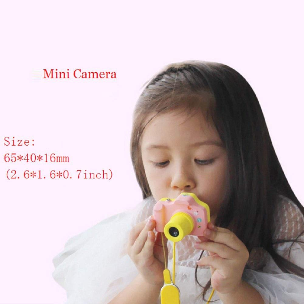 PANNOVO YT001 Mini 1.5 Inch Screen Children Kids Digital Camera with 8GB Cards(Pink) by PANNOVO (Image #4)