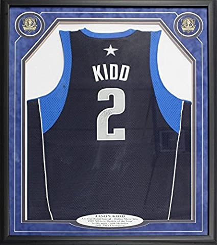 2fe13f99e01 Autographed Jason Kidd Jersey - Framed - Autographed NBA Jerseys at ...
