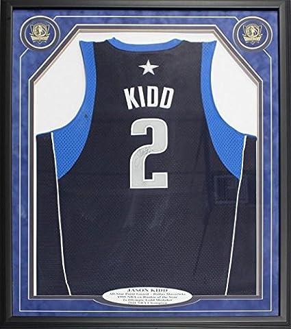 timeless design 1dd3a 2587f Autographed Jason Kidd Jersey - Framed - Autographed NBA ...