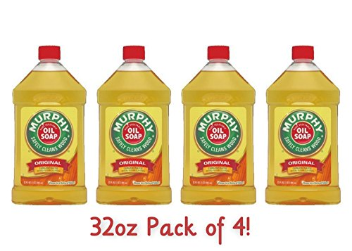 Price comparison product image Murphy's Oil Soap,  32-Ounce (Pack of 4)