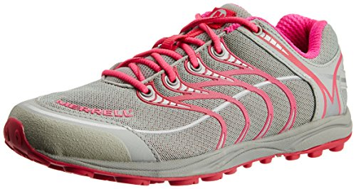 Merrell MIX MASTER GLIDE - Zapatillas de correr de material sintético mujer multicolor - Mehrfarbig (PINK/GREY)