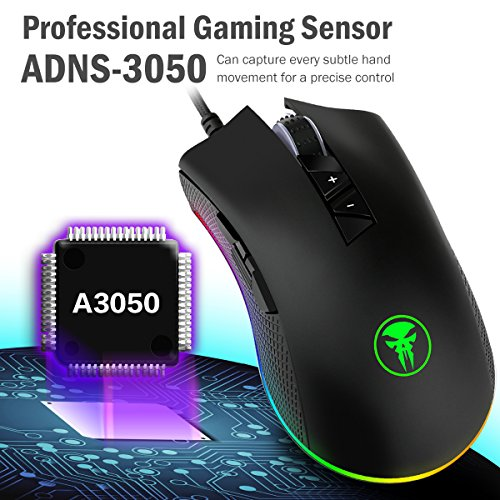 519eJXJUMpL - YockTec-RGB-Tunable-Gaming-MouseMulti-Color-Ergonomic-Gaming-Mouse-4000-DPI-Sensor-Comfortable-Grip-The-eSports-Gaming-Mouse