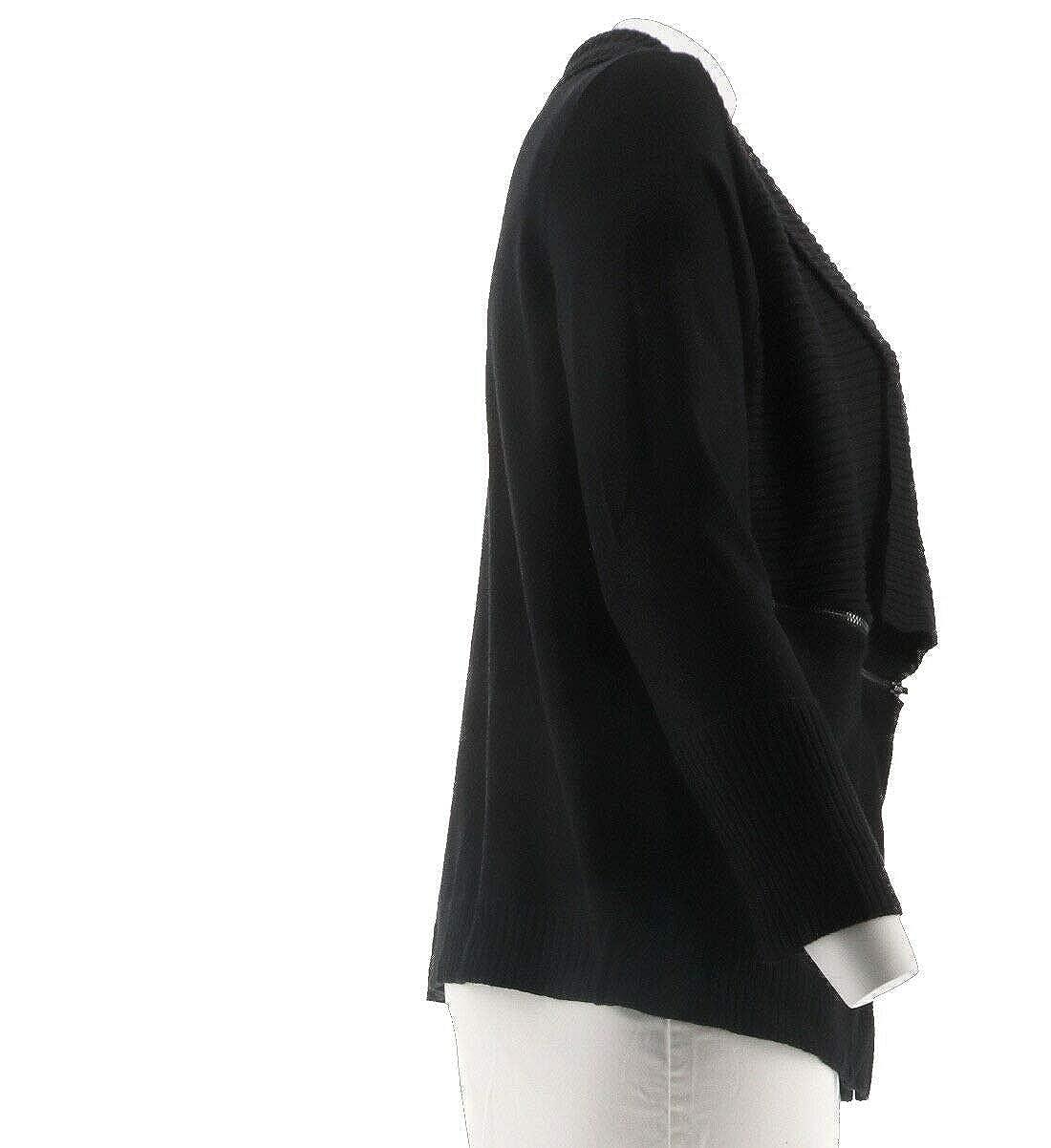 Linea Louis DellOlio Whisper Knit Cardigan Zipper A280938
