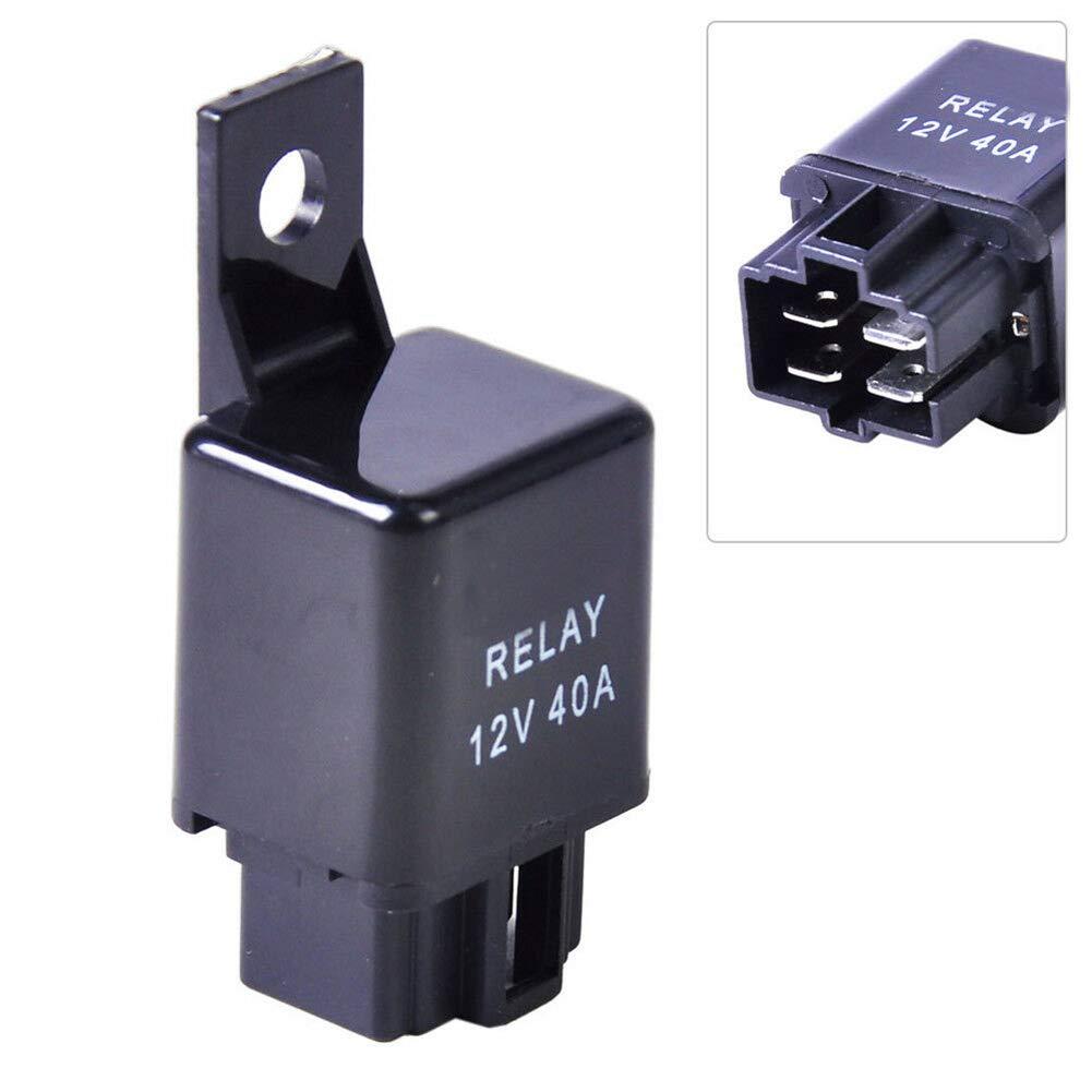 housesweet H11 Kabelsatzsteckdosen f/ür Nebelscheinwerfer 12V 40A Relais-LED-Anzeigen Schalter LKW-Fahrlicht