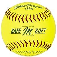 Softbol de entrenamiento suave /seguro de MacGregor, 11 pulgadas (una docena)