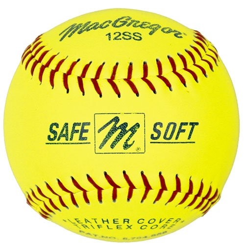 MacGregor Safe/Soft Training Softball, 11-inch (One Dozen)