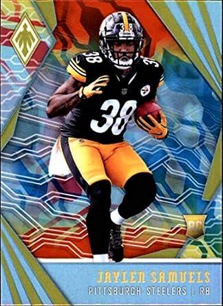 ca8c30cc3 2018 Panini Phoenix Color Burst  138 Jaylen Samuels Rookie Pittsburgh  Steelers RC Rookie NFL Football